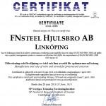 Fnsteel-Certifikat 9001-2013
