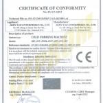 Jern Yao-CE certificate