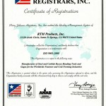 RTM-ISO9001-Certificate